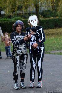 skeletal shot halloween
