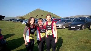 pre race team photo Dovedale Dash 1 Nov 2015