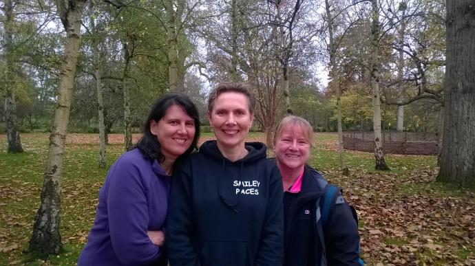 Puce at Bushy Parkrun 14 nov 2015