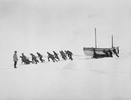 shackleton ice photo