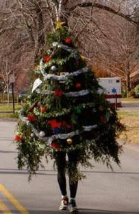 christmas tree fancy dress