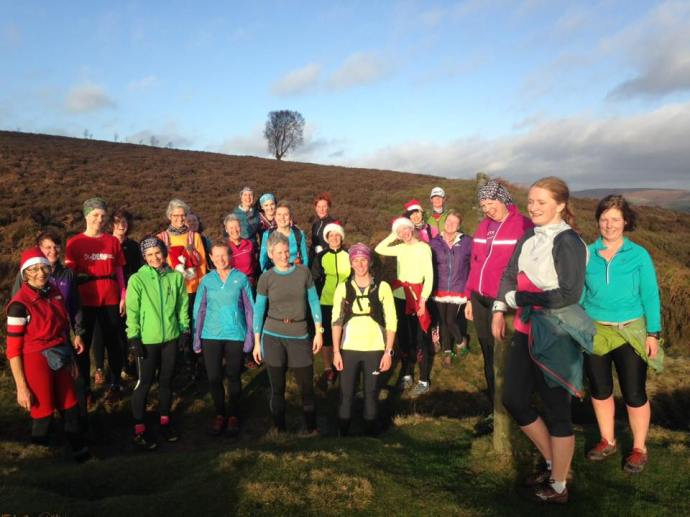 Eyam Moor Christmas Jingle run