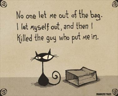 cat-out-of-the-bag warning