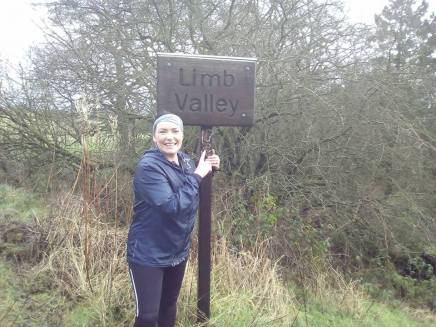 limb valley sign