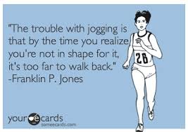 trouble with jogging