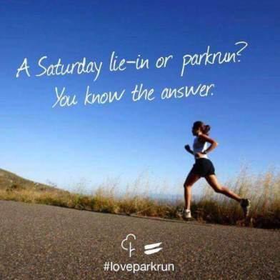 lie in or get running