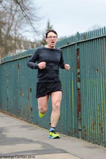 running is a one legged sport