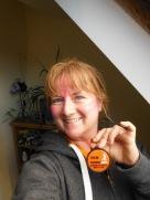 Sherwood Pines Endurer Dash medal 2016