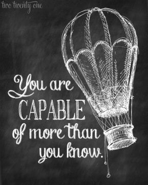 more capable than you know
