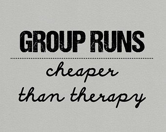 group runs cheap therapy
