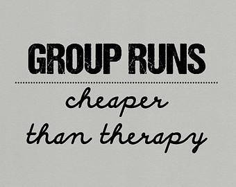 group runs cheap therapy