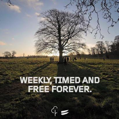 parkrun free forever