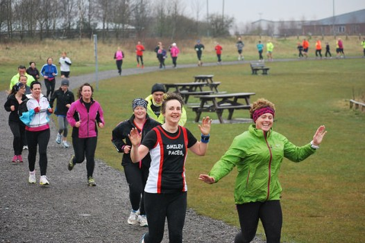 Smiley finishers MW
