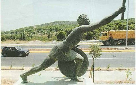 Statue_of_Pheidippides_along_the_Marathon_Road