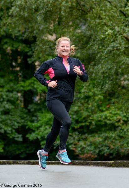 Smiling at parkrun faking it and making it