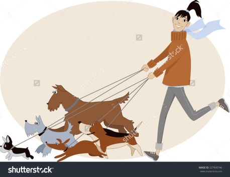 stock-vector-dog-walker-young-woman-running-with-a-group-of-dogs-of-different-breeds-vector-cartoon-no-227900746