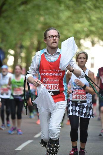 Ben Moss marathon morris man