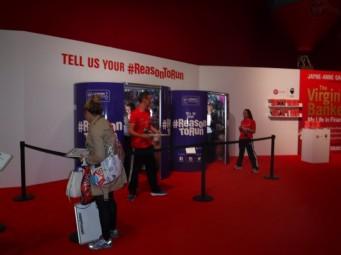 Expo booths reason to run