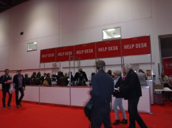 Expo help station
