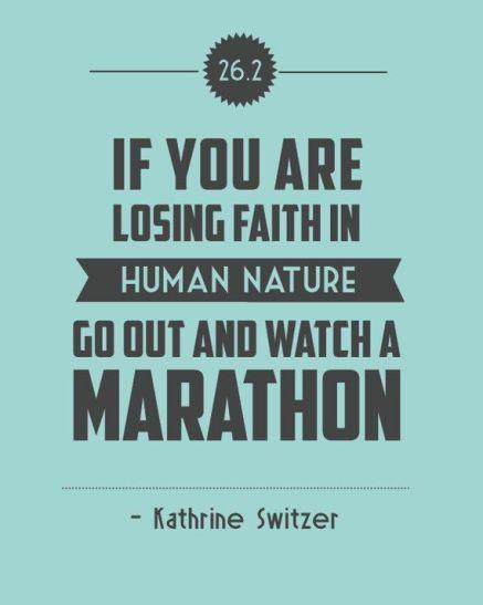 just watch a marathon