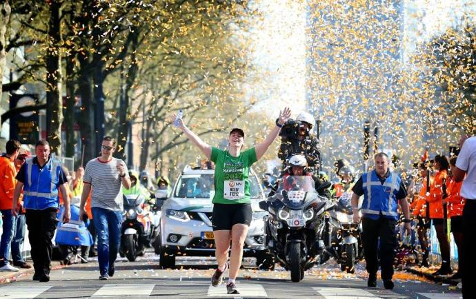 rotterdam marathon final finisher