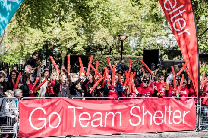 team shelter embankment