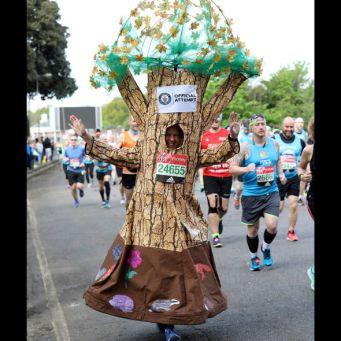 london marathon tree