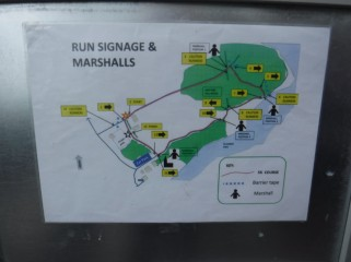 route map clumber park parkrun