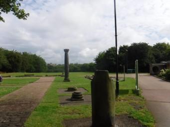Clifton park pillars