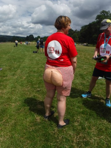 fine buttock shot