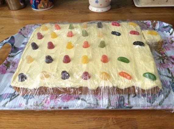 Leamington parkrun cake