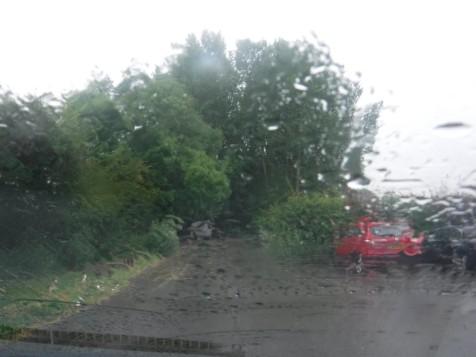 LP it rained