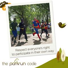 parkrun code