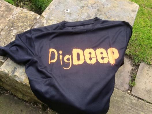 dig deep t shirt