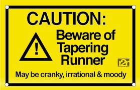 tapering runner