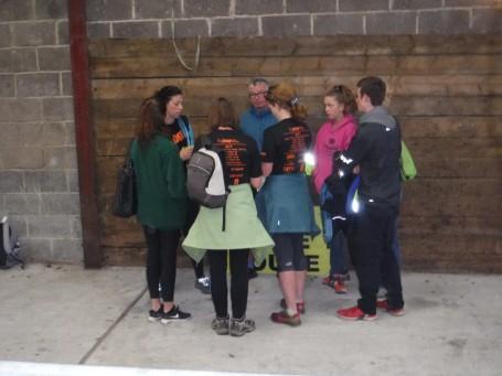 volunteer briefing