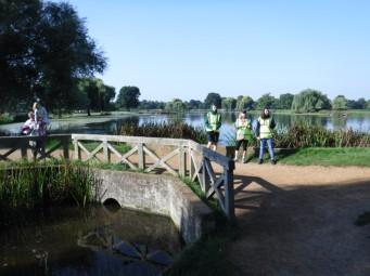 marshals at big fish bridge