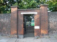 park side entrance gate