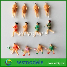 100PCS-1-100-scale-ABS-plastic-model-running-people-action-figures-boxing-sports-model