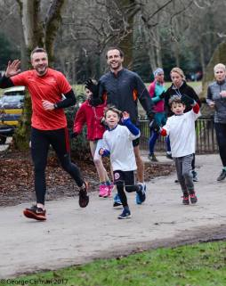 GC sharing the parkrun love