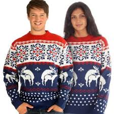 humping reindeer jumper