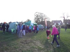 mud and tents