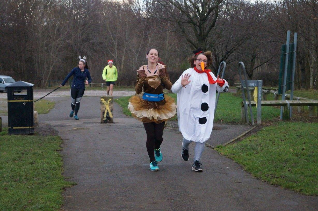 Parkrun Running Scared - 24 people that went above and beyond for the sake of fancy dress
