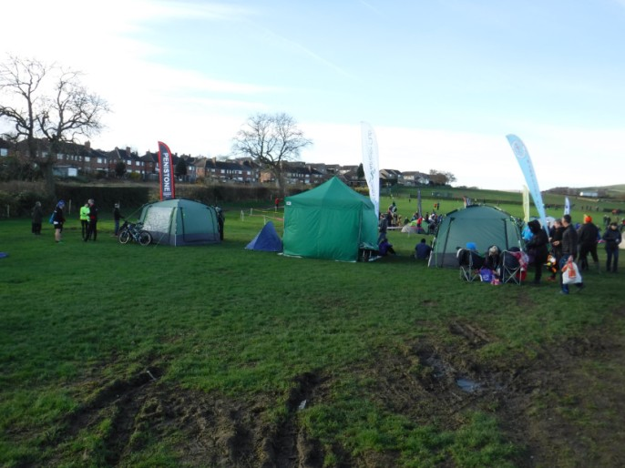 sad looking tents