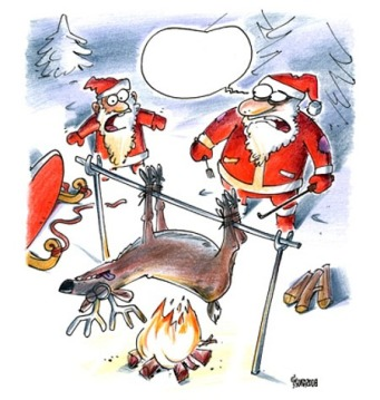 Santa-Cooking-Reindeer