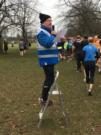 Bushy park 13 jan run director