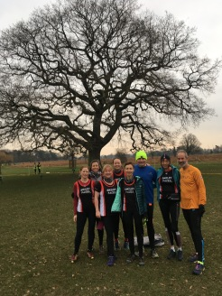 Bushy parkrun 13 jan 2018 smilies and two pauls
