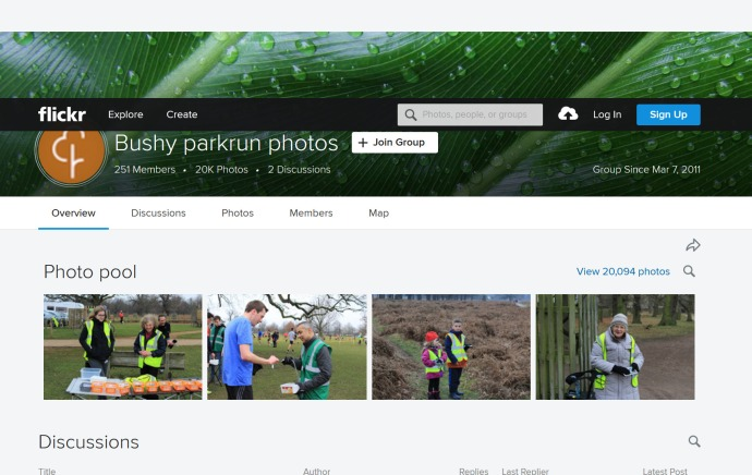 bushy parkrun flickr