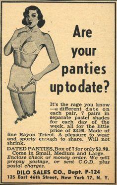 panties up to date