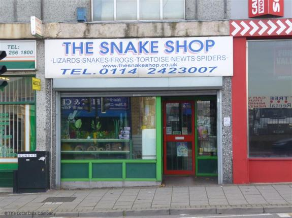 the snake shop attercliffe